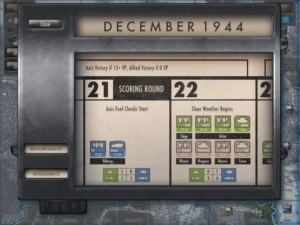 Battle of the Bulge Calendar Early Version