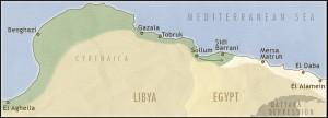 El Alamein map a1_Italian_incursion